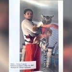 Victor Cuevas And India The Tiger
