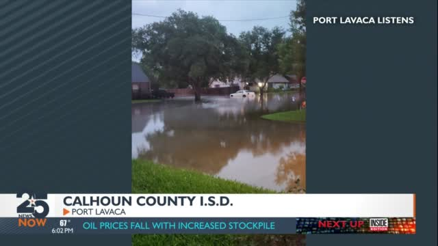 Calhoun County I.s.d. Parent Says The District Should Have Canceled School Due To Stormy Weather