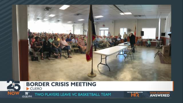 Sheriffs Host Town Hall In Response Border Immigration Crisis