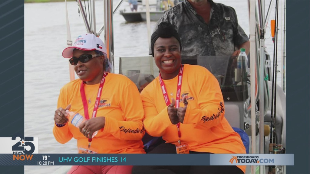 Gone Fishing With Warriors Weekend