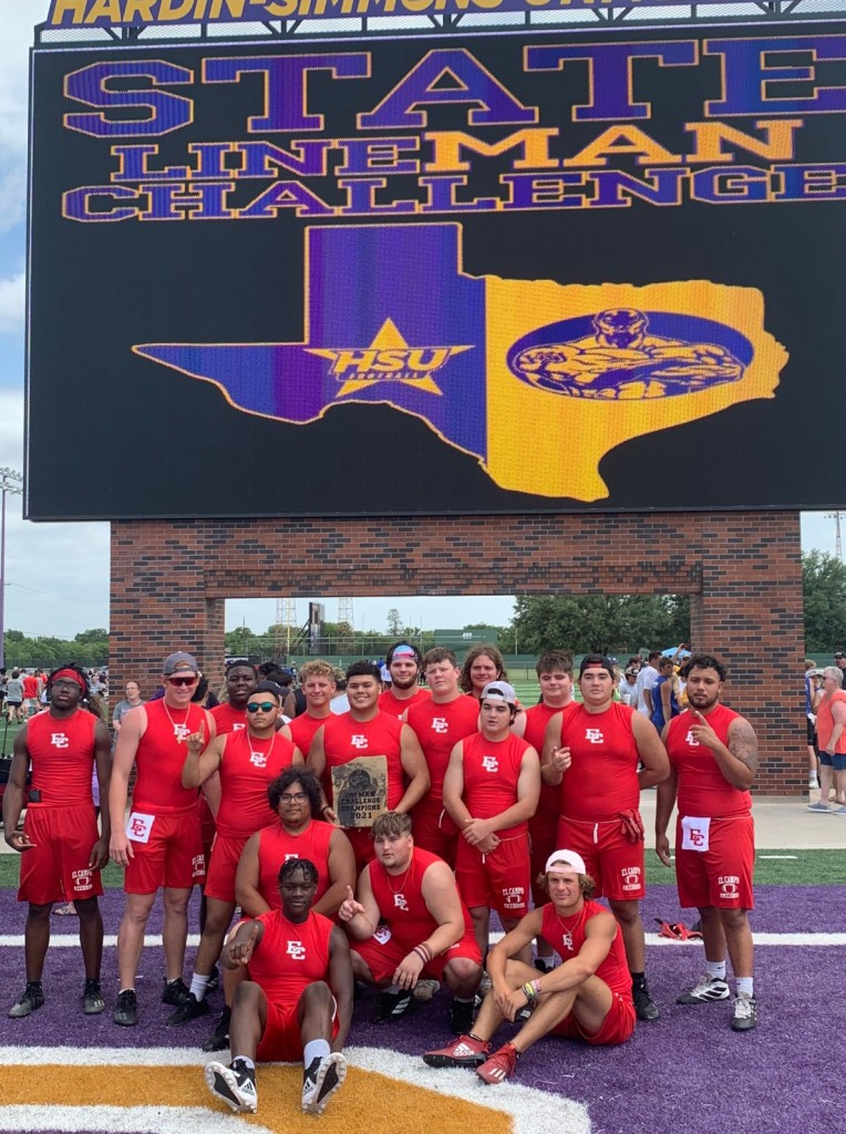 El Campo Ricebirds linemen take first in the state challenge