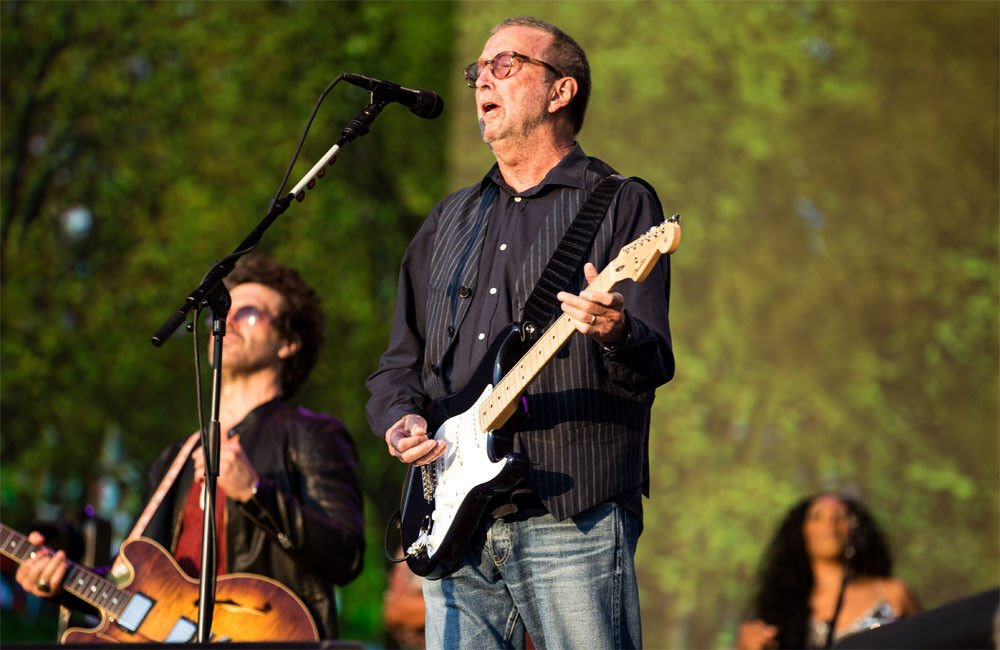 Eric Clapton Reconciles With Daughter