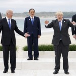 The Latest: Johnson Opens G7 Summit With Beach Greetings