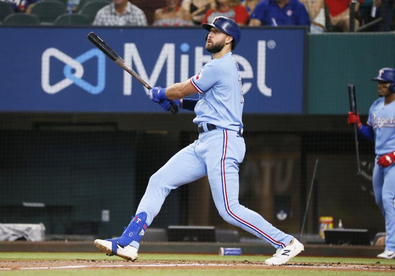 Gallo Homers Again Lyles Strong As Rangers Beat Royals 4 1