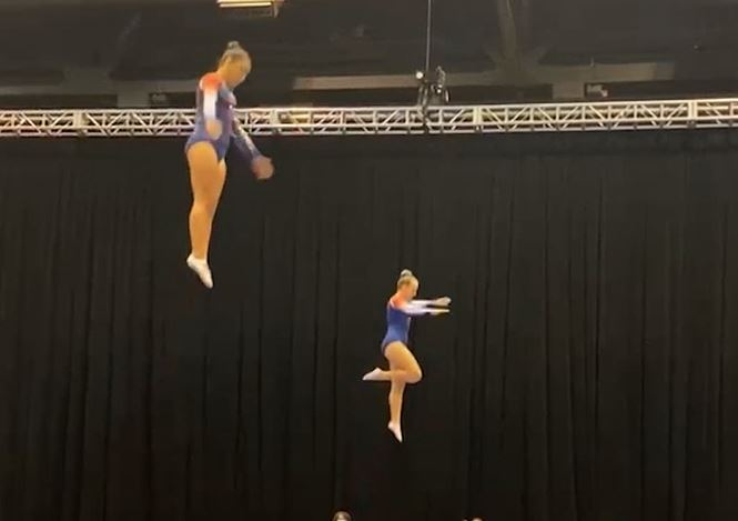 A Group Of Full Force Gymnasts Are Heading To The Nationals Again