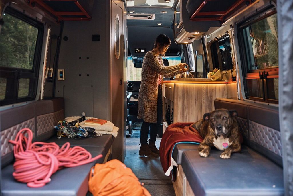 Airstream Unveils A Camper Van That You Can Take Off Road
