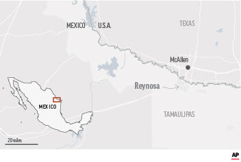 Infighting In Gulf Cartel Blamed For Mexico Border Killings