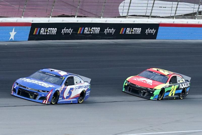 Larson Wins 2nd Nascar All Star Race This One In Texas