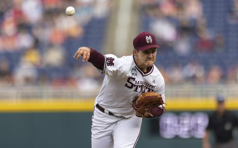 Leggetts Rbi Hit In 9th Sends Mississippi St To Cws Finals