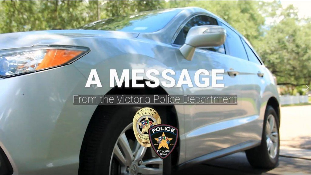 Message From The Victoria Police Department