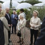 The Latest: Queen Elizabeth Ii Hosts G 7 Leaders, Spouses