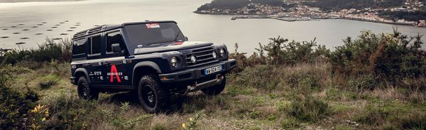The Ineos Grenadier First Look: A Freshman 4x4 Comes For The Defender