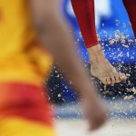 Explainer: How Does A Grain Of Sand Make It To The Olympics?