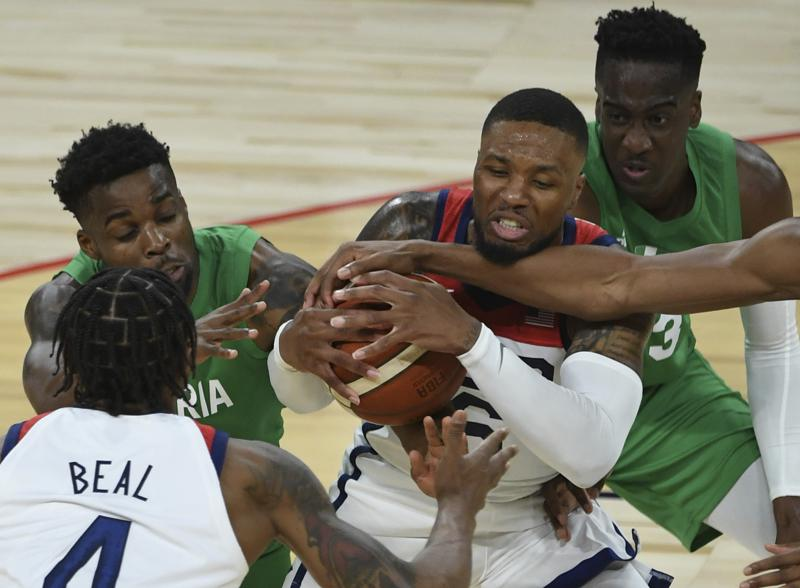 Us Falls To Nigeria 90 87 In Pre Olympic Opener