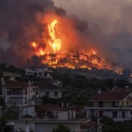 A Year Ago Today, In Pictures: Greece Wildfire And More Moments You May Remember