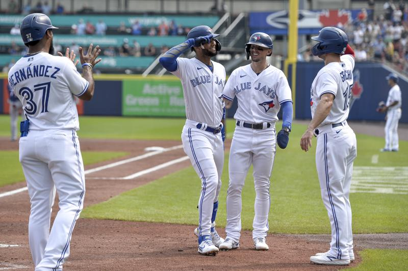 Blue Jays Shut Out Rangers In Both Ends Of Doubleheader
