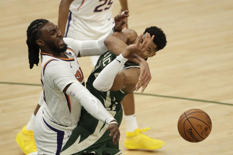 Suns Can Hack And Whack Giannis But Know Hell Keep Coming