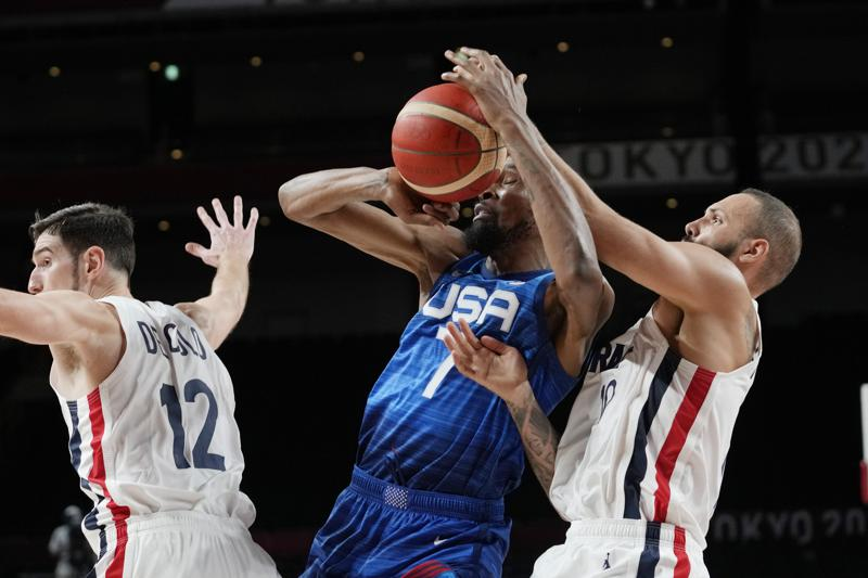 Us Loses To France 83 76 25 Game Olympic Win Streak Ends