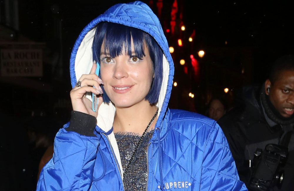 Lily Allen Celebrates Two Years Sober