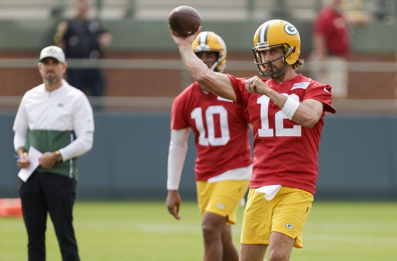 Rodgers Works Out With Packers Then Details His Concerns