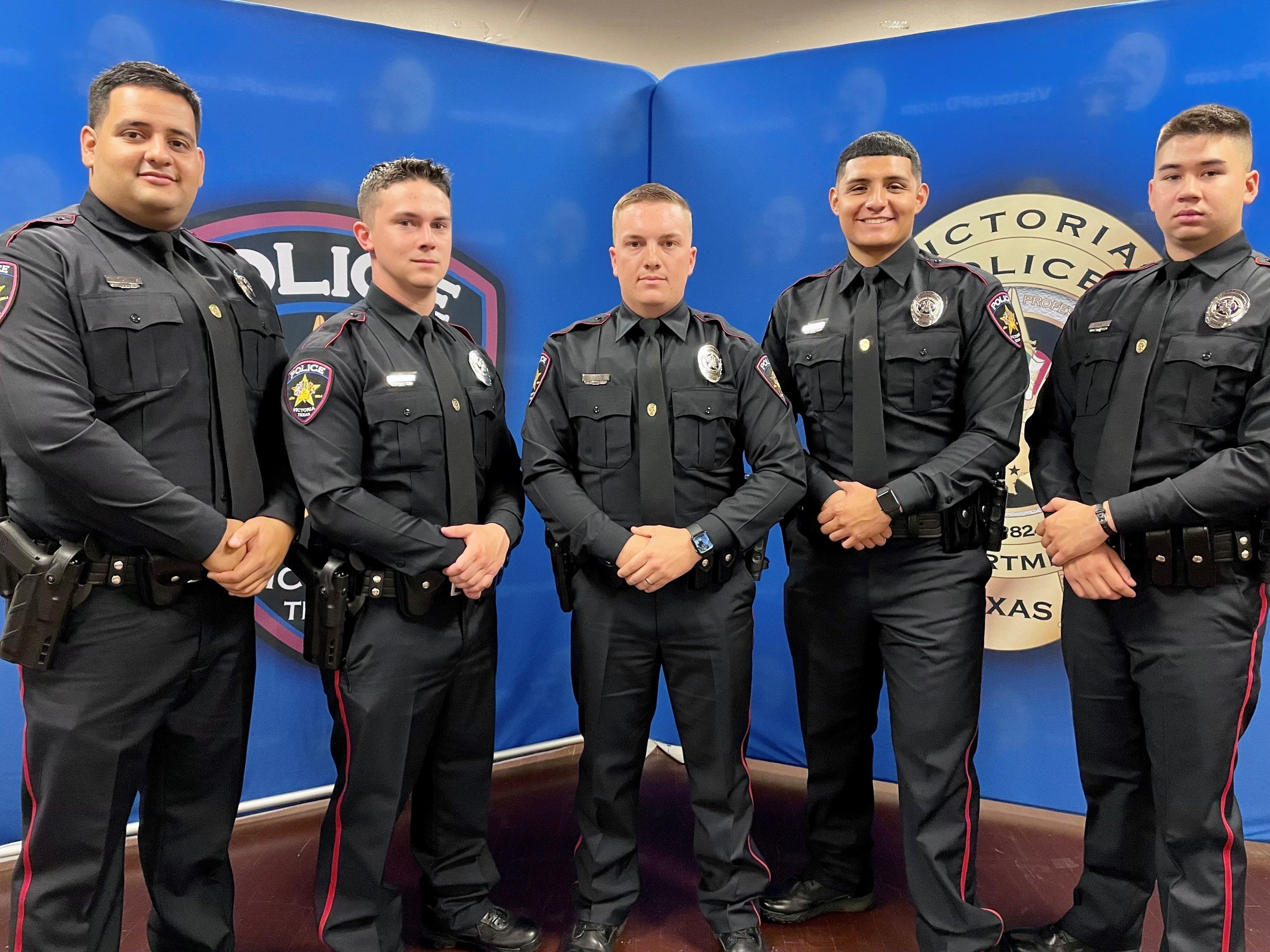 Victoria Police Department swears in 5 new officers on ...