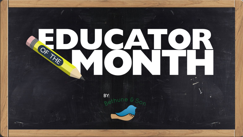 Educator Of The Month
