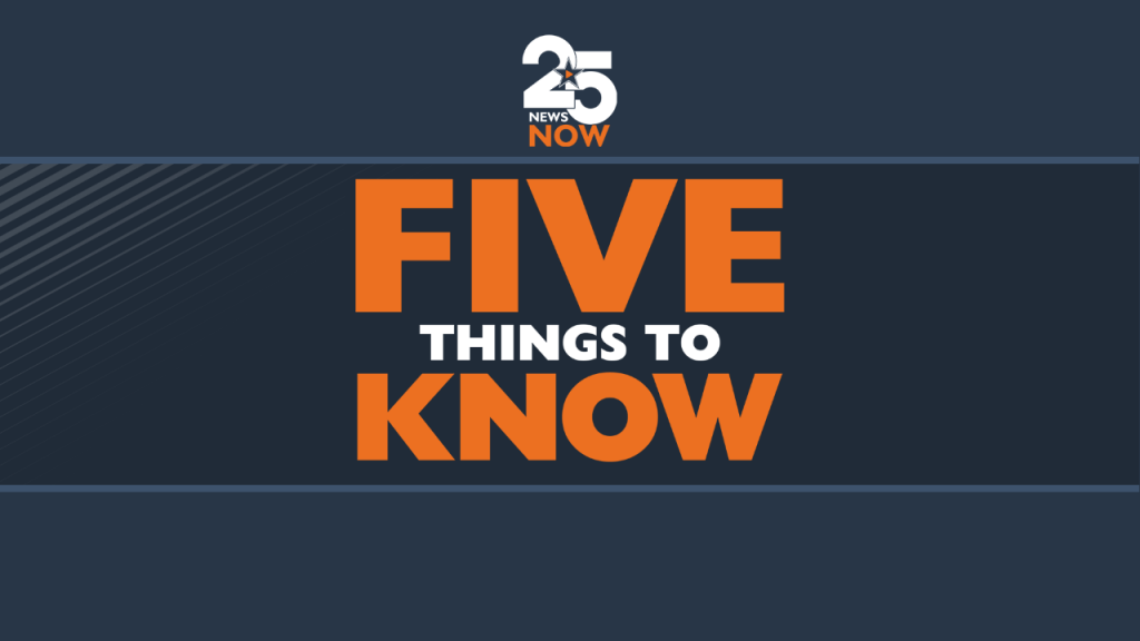 Five Things To Know 6 4 21