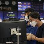Asian Shares Lower After Wall St Rebound On Us Growth Data