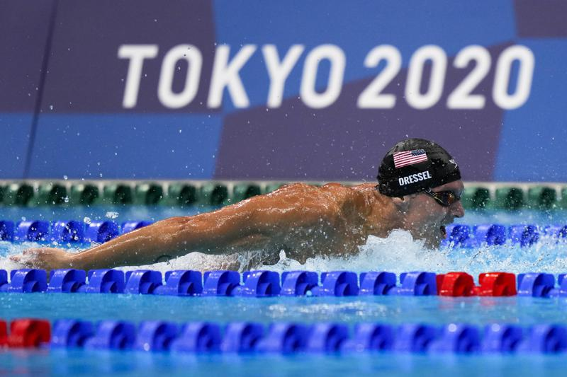 Dressel Mckeon Take Place Among Olympic Greats