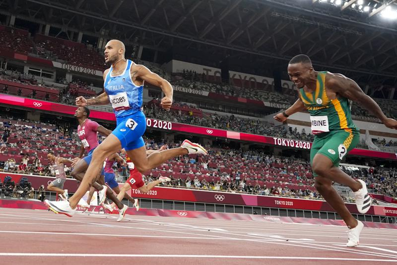 Texas Born Italian Sprints From Unknown To Bolts Successor