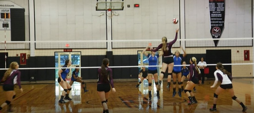 Brahmas Faced The Cowgirls In The Shiner Volleyball Tournament Championship