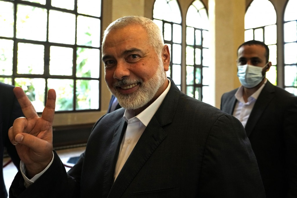 Hamas Re Elects Ismail Haniyeh As Supreme Leader