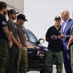 Out West, Biden Points To Wildfires To Push For Big Rebuild