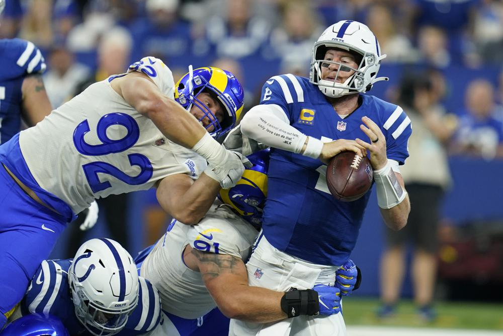 Stafford Leads Rams To Late Scores In 27 24 Win Over Colts