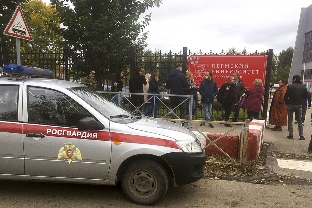 Shooting At Russian University Leaves 8 Dead, 24 Hurt