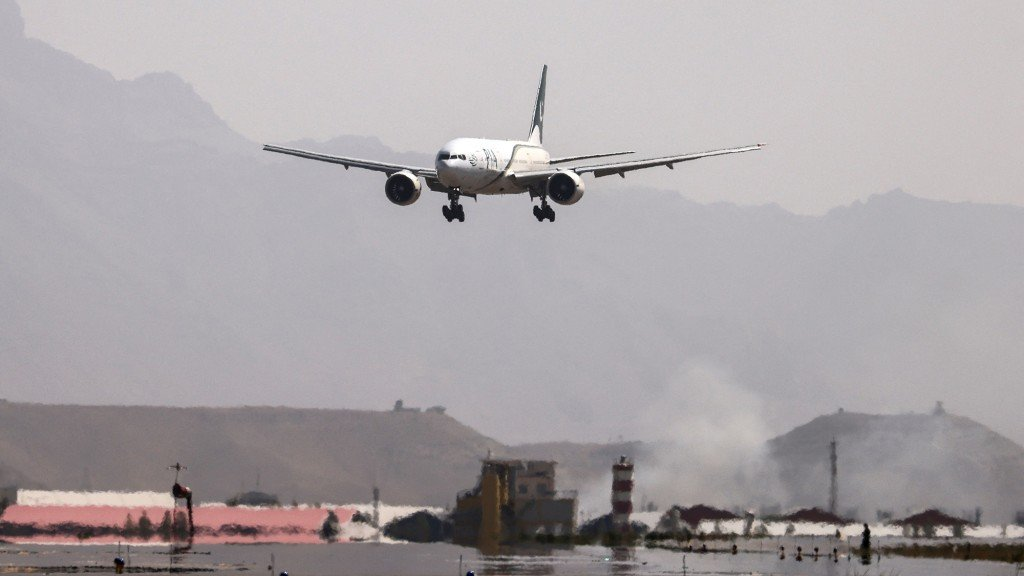 Afghanistan Conflict Airport