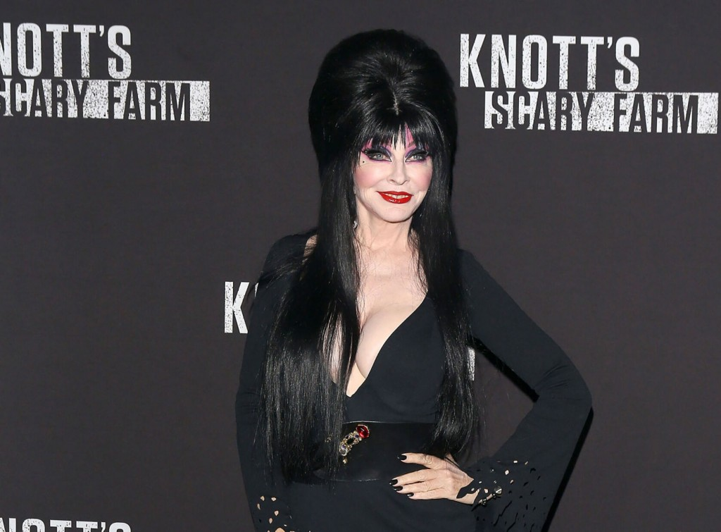 Elvira, 'mistress Of The Dark,' Says She's Gay, In 19 Year Relationship With Woman