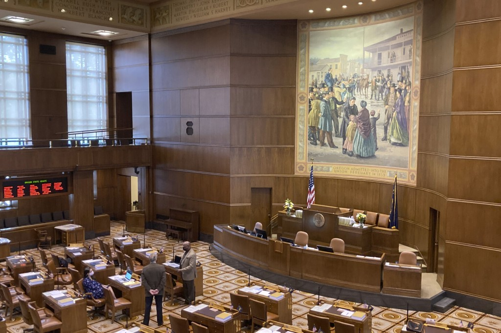 House Republicans Return To Oregon Capitol For Redistricting