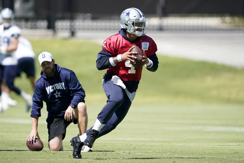 Prescott Set To Play At Home For 1st Time Since Ankle Injury