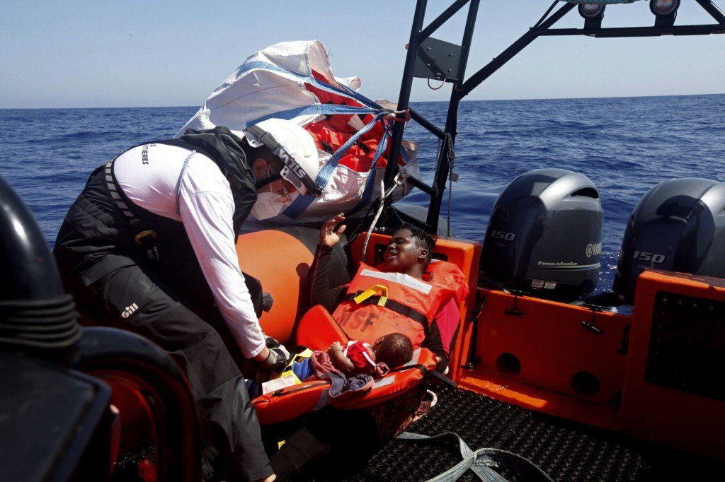 Ships Rescue 190 Europe Bound Migrants Off Libya