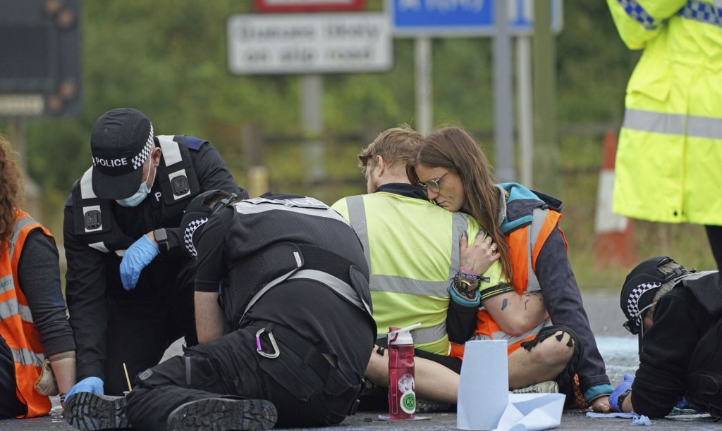Protesters Target London's Major Ring Road For 4th Time