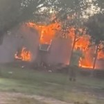 House fire in Beeville