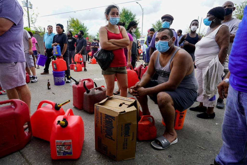 Louisiana residents face gas and supply shortages