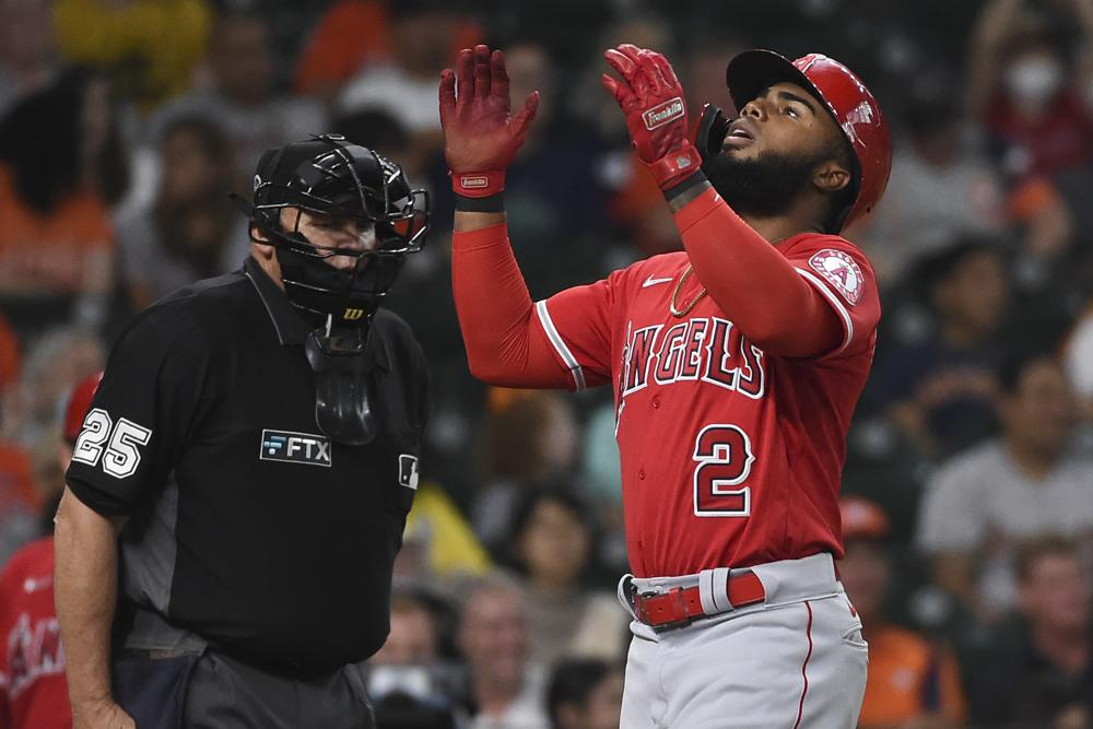 Rengifo Homers With 3 Rbis To Lead Angels Over Astros 4 2