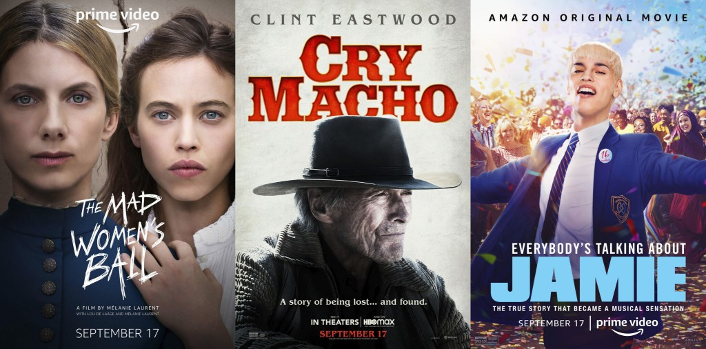 This Week's New Entertainment Releases Include 'cry Macho,' Mccreery And 'the Morning Show'