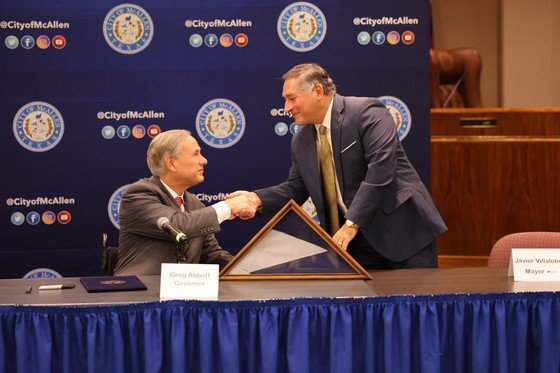 Governor Abbott signs law