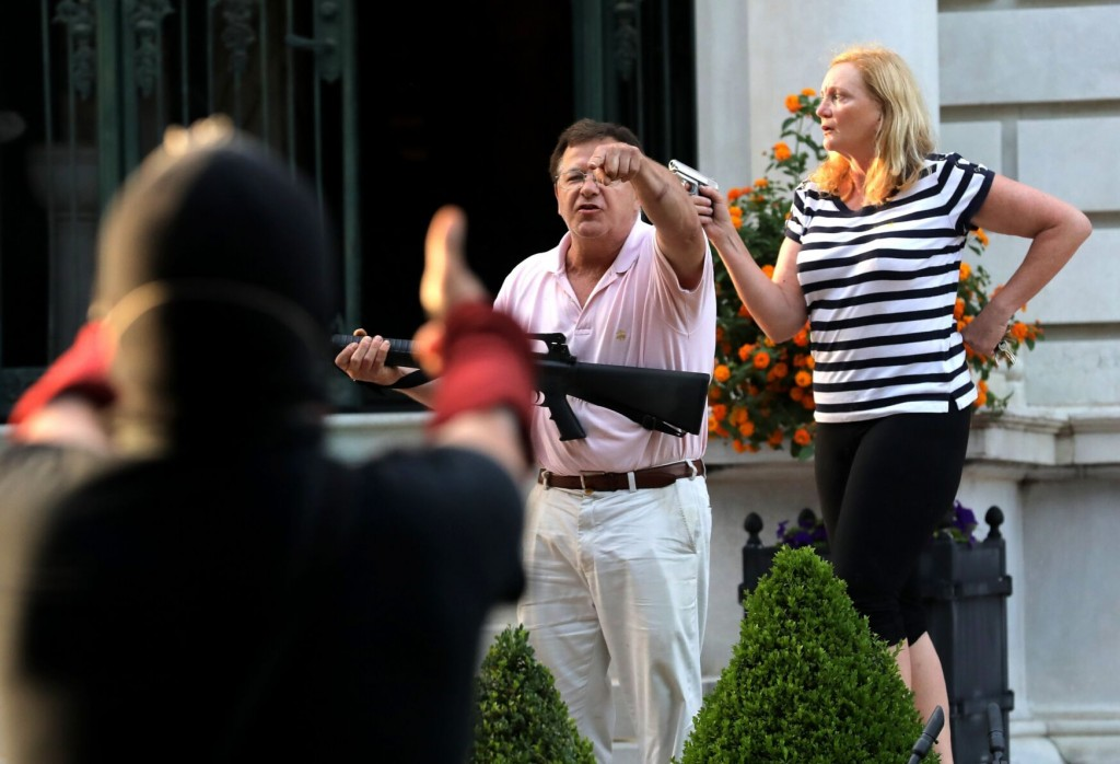 Court Asked To Suspend Law Licenses Of Gun Waving Couple