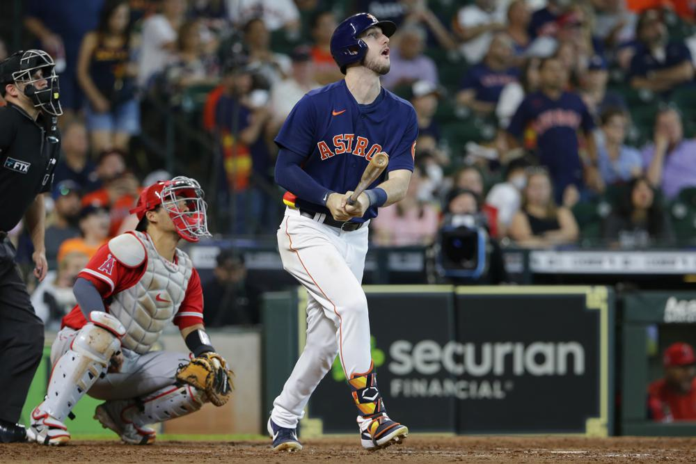 Mccullers Solid Again Tucker Homers Astros Beat Angels 3 1