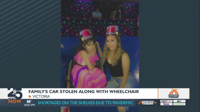 Victoria Mother Struggling After Car, And Her Sister's Wheelchair Is Stolen
