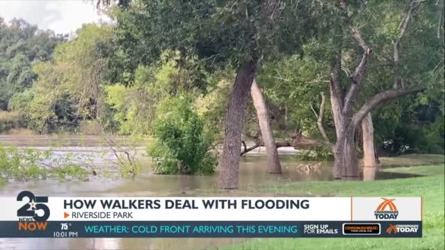 Walkers Reconsider Exercising Outside Some Days, Due To Hurricane Season